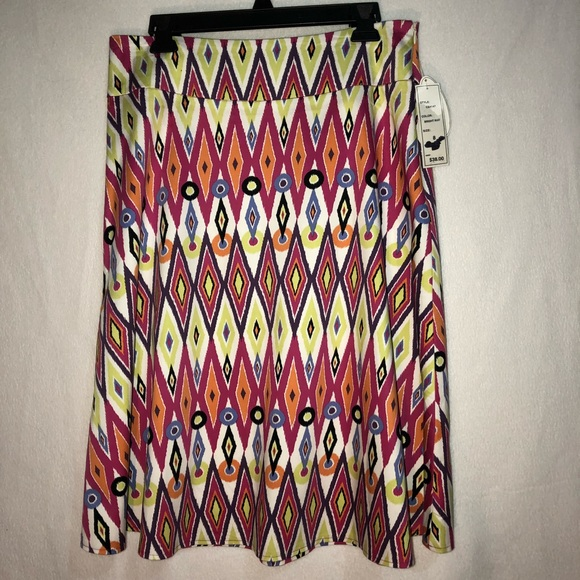 Robert Louis Dresses & Skirts - IKAT Print Skirt